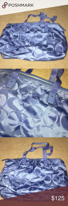 Coach luggage carry on COACH luggage carry on bag, never used! Perfect condition! Coach Bags Travel Bags