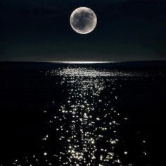 Somebodies grandmother would always tell them this was fairies dancing on the water in the moonlight....:)❤️