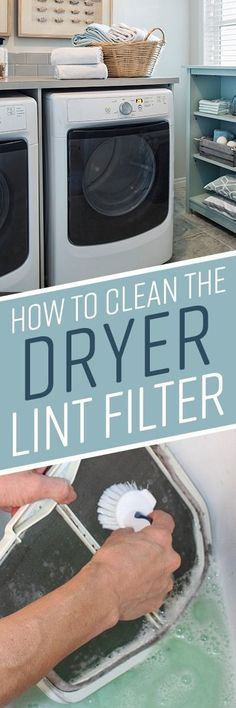 You're accustomed to scraping linty scraps off of your dryer filter after you've finished a load of laundry, but dryer sheets, fabric softener, and fabric softener sheets leave a film on your screen that you can't remove quite so easily.