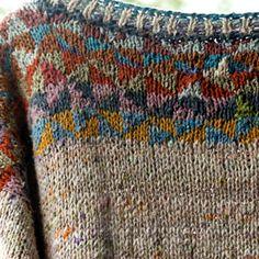 Ravelry: late summer pattern by Martina Reichelt Knitting Charts, Knitting Stitches, Knitting Yarn, Free Knitting, Vintage Knitting, Motif Fair Isle, Wooly Bully, Plymouth Yarn, Lang Yarns