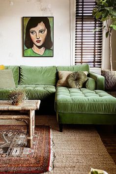 Retro Living Rooms, Eclectic Living Room, Boho Living Room, Eclectic Decor, Living Room Designs, Living Room Decor, Bedroom In Living Room, Living Room Vintage, Earthy Living Room