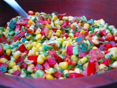 Raw Vegan Zesty Lime Corn Salad Recipe The Blender Girl - CHOW