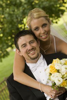 Wedding Day - A Hug - Reflections Creative Photography
