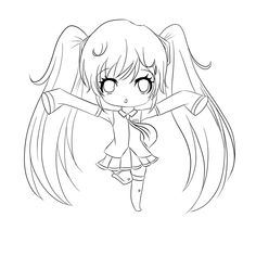 Best Girls Chibi Anime Coloring Pages Free 1489 Printable ColoringAce.com