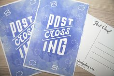 PostCrossing Postcard by Shurkenberg on Etsy