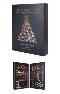 Makeup and Beauty Advent Calendars for Holiday 2017 Makeup Revolution Advent Calendar 2017  – Musings of a Muse
