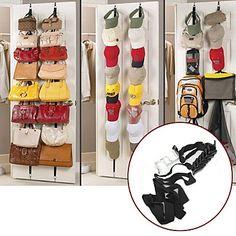 16 opp ned døren kroker vegg hengeren plassbesparende håndvesker poser klær lue soverom 3115361 2016 – kr.105