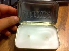 Altoids tin candle for backpacking or..