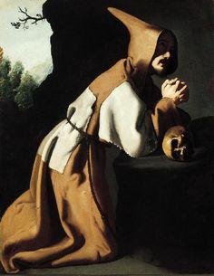ZURBARAN SAN FRANCISCO PENITENTE 1638-39