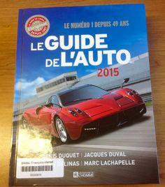 Le guide de l'auto 2015