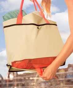 Love this Red O Beach Bag & Mat Set by O Bag on #zulily ...