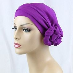 Top the purple and yellow with a Violet head scarf wrap!
