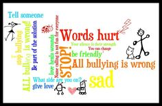 October is National Bully Prevention Month. Check out some great books to use to teach children about how to stop bullying! from Preschool to Tween! Lets put a end to Bullying! Make School a safe happy place to be Behavior Management, Classroom Management, Classroom Behavior, Classroom Posters, Classroom Ideas, Stop Bullying Now, Verbal Bullying, Bullying Quotes, Crafts