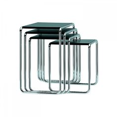 Marcel Breuer 39 S Laccio Table Is Made From Tubular Steel