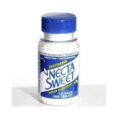 Necta Sweet Saccharin Tablets, 1/2 Grain, 1000 Tablet Bottle (Pack of 8) >>> Details can be found by clicking on the image.