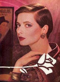 Isabella  -  Lancome  -  US Vogue September 1985
