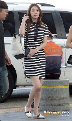 fx sulli airport fashion kpop