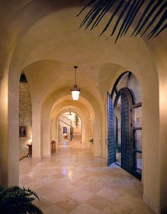 Urban hacienda mediterranean entry
