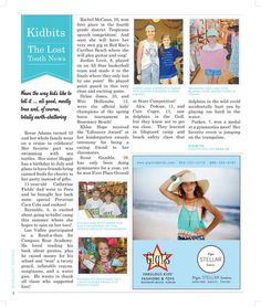 kidbits the lost tooth news summer 2014 in rosemary thymes