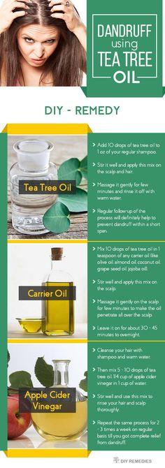 How-to-Clear-Dandruff-using-Tea-Tree-Oil