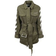 Classic Trench ($1,310) ❤ liked on Polyvore featuring outerwear, coats, green, linen coats, linen trench coat, leather-sleeve coats, green coat and long sleeve coat