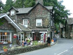 Grasmere, Lake District, UK--I was here in 1998 and I loved loved loved the place.  It looks just as I remember it.  I MUST go back!