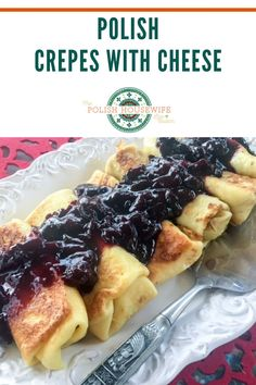 These super thin pancakes filled with a ligtly sweet farmer's cheese were well known in Hungary, Slovakia, Russia, and Poland before the rest of the world discovered Naleśniki z Serem – Polish Crepes with Cheese around 1800.
