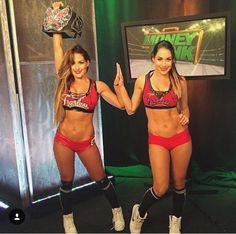 #fearlessnikki and #briemode , THE BELLA TWINS
