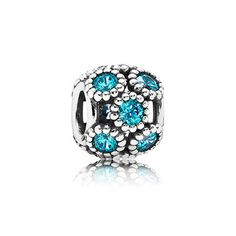 PANDORA NEW! SUMMER 2014 MOMENTS COLLECTION available at Robert's Jewelers in Jackson, TN | Studded lights, teal cz