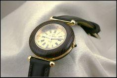 Reloj redondos para hombres madera wengé  por HUMBERTcreations, $490.00