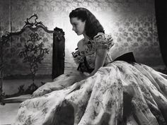 Scarlett O'Hara... dressed to impress - so jealous I don't get to wear those clothes every day. Wrong era.