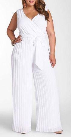 Moda Plus Size para o New Years Eve - Plus Size Fashion & Dress Plus Size Fashion Tips, Plus Size Outfits, Plus Size White Outfit, White Plus Size Dresses, Skirt Fashion, Fashion Outfits, Fall Fashion, Womens Fashion, Style Fashion