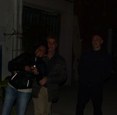 Roberta, Leo e Giovanni