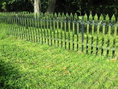 15. Create the illusion of an endless garden with this mirror fence.