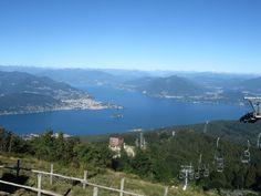 Verbania e il Lago Maggiore dal Mottarone