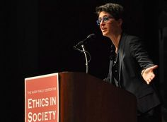 Maddow on how the Humanities matter.  Speaking to members of the Stanford community, Rachel Maddow said that her education in the humanities was indispensable to her past and present success in advocacy and activism.