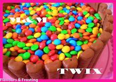 Tarta de M y Twix M and Twix cake