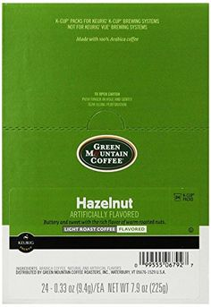 Green Mountain Coffee K-Cup Portion Pack for Keurig K-Cup Brewers, Hazelnut (Pack of 96)