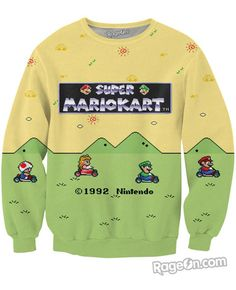 Super Mario Kart Crewneck Sweatshirt