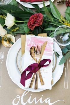 Autumn Al Fresco Bridal Shower - Style Me Pretty Wedding Bells, Fall Wedding, Rustic Wedding, Our Wedding, Wedding Ideas, Wedding Tables, Garden Wedding, Wedding Inspiration, Diy Place Settings