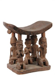 Yoruba Shrine Stool, Nigeria