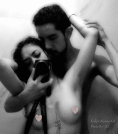 Artistic Nude. Photo taken by someone I love!!  More of my pics on my facebook page Evelyn Alonso Art
