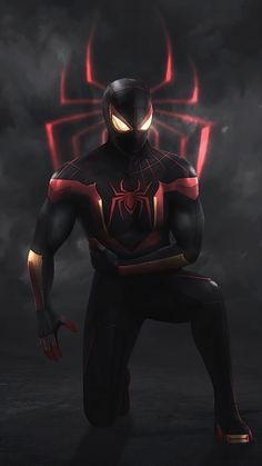 Image Spiderman, Spiderman Pictures, Black Spiderman, Spiderman Art, Amazing Spiderman, Noir Spiderman, Spiderman Drawing, Marvel Avengers, Iron Man Avengers