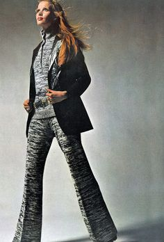 Photo by Bailey Vogue UK 1969