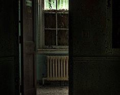 resuscitator room - art photography print of an open door to the resuscitator room of building 135 of an abandoned asylum, signed. Metallic Prints, Metallic Paper, Color Photography, Digital Photography, Scary Ghost Pictures, Ghost Photos, Eastern State Penitentiary, Real Haunted Houses, Haunting Photos
