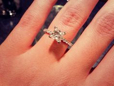 I am getting married 3 months after I turn 18 and this is the ring I want