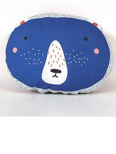 Yves Cushion in blue by Ava & Yves