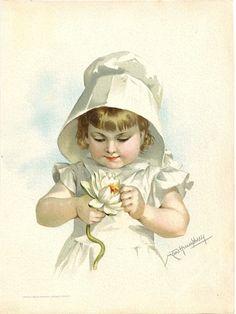 Maud Humphrey Bogart (1868-1940) —    Children ,1888    (768x1024)