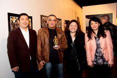 Gibicon 2 - setembro de 2014, abertura. Premio Claudio Seto, homenagem ao Solda com Família Seto.