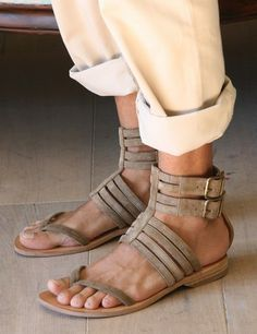 Best 10 sandals Cute comfortable strappy gladiator leather wedge sandals chunky flatform jamaica lace up boho espadrilles sandals Mode Masculine, Me Too Shoes, Shoes Sandals, Male Sandals, Espadrille Sandals, Leather Wedge Sandals, Designer Boots, Leather Men, Mens Fashion